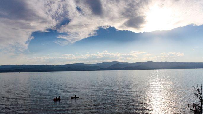 Flathead Lake in Bigfork, MT