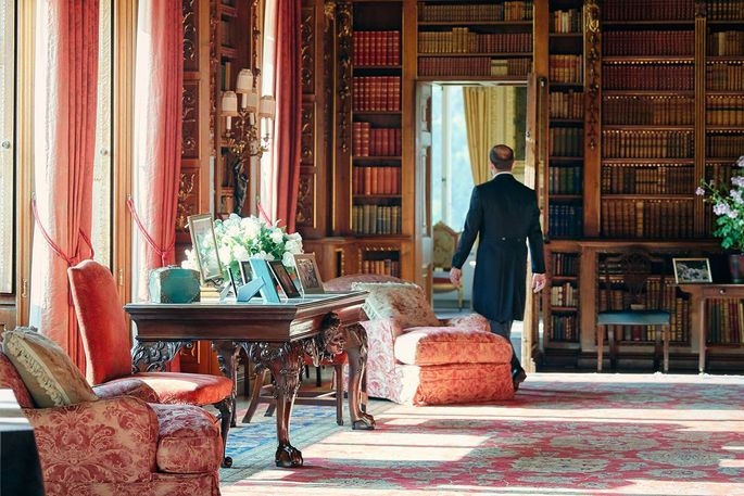 Enjoy cocktails and dinner as part of your stay, and be served by Highclere's own butler.