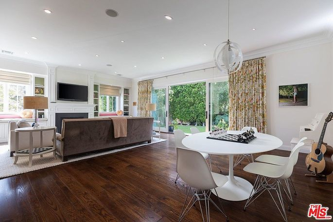 Family room and causal dining space