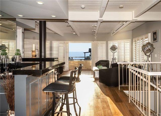 Main living area Manhattan Beach house Sasha Vujacic