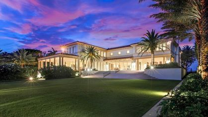 $59.9M Palm Beach Mansion Makes a Splash as Most Expensive New Listing