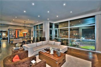 San Diego Penthouse with Home Run Views is Ultimate Bleacher Seat