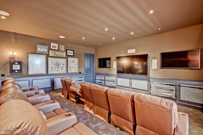 Theater room