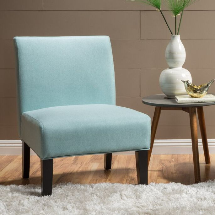 Choose this seat in pale gray or robin's-egg blue
