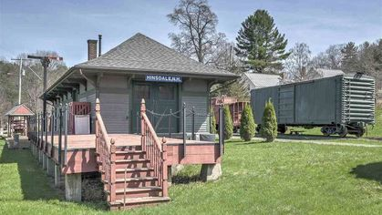 Loco for Locomotives? This Former Train Station Rings All the Bells and Whistles as a Cozy Abode