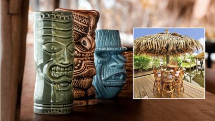 Raise a Mai Tai: These 9 Homes With Tiki Bars Are Lit!