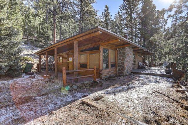 Evergreen, CO cabin exterior