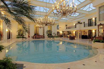 In the Swim: This Stunning Houston Mansion Has an Amazing Natatorium