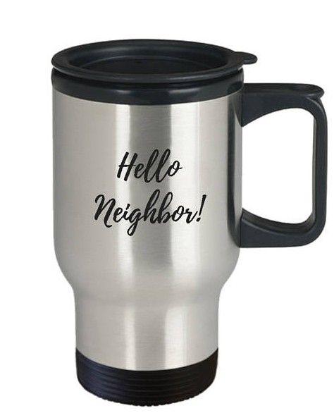 Seriously, who doesn't like a free travel mug?