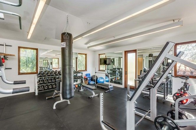 Mansions with muscle over the top home gyms realtor
