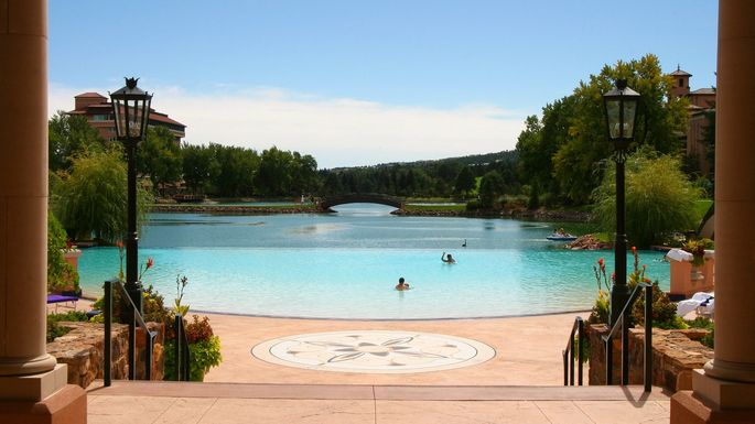 The Broadmoor resort in Colorado Springs, CO