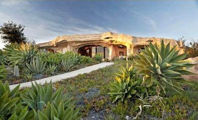 Dick Clark's Bedrock-Style Malibu House