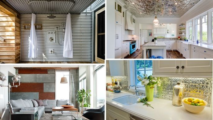 Tin Is In 8 Ways To Tap Into 2019 S Newest Design Trend