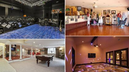 Dance Your Way Into 2017 With These 7 Disco-Ready Homes
