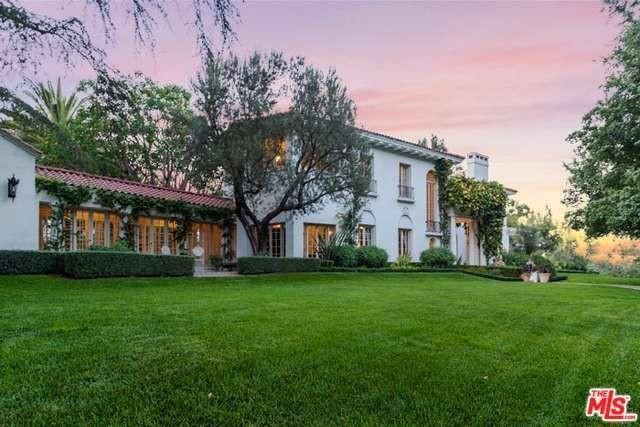 Inside Angelina Jolie's historic $34 million LA home
