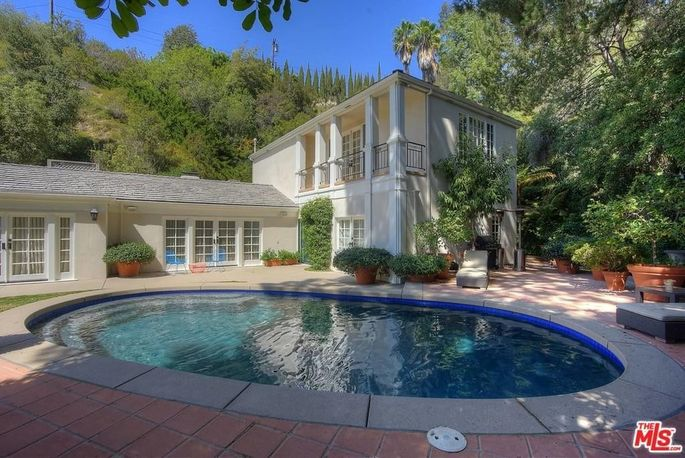 Perry's Beverly Hills guesthouse