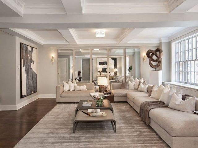 Double-size living room