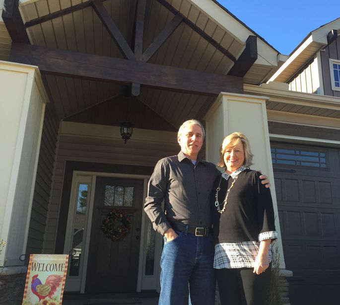 The cracks in a home's foundation nearly tore this couple apart.