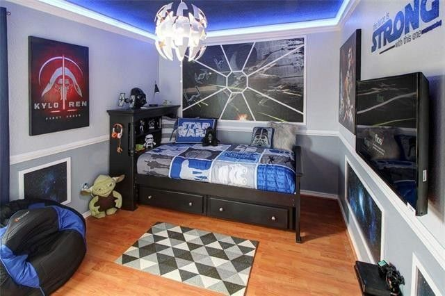 the force is strong in these 4 star wars themed bedrooms
