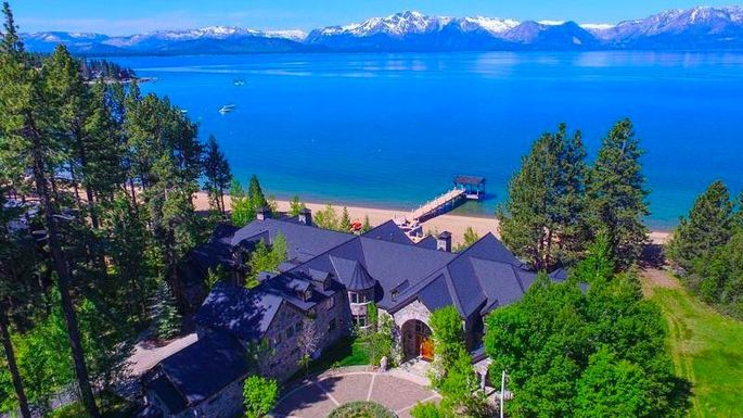 Mansion on Lake Tahoe