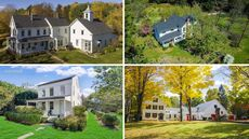 A Cool Cornucopia: 10 Authentic American Farmhouses Built Before 1900