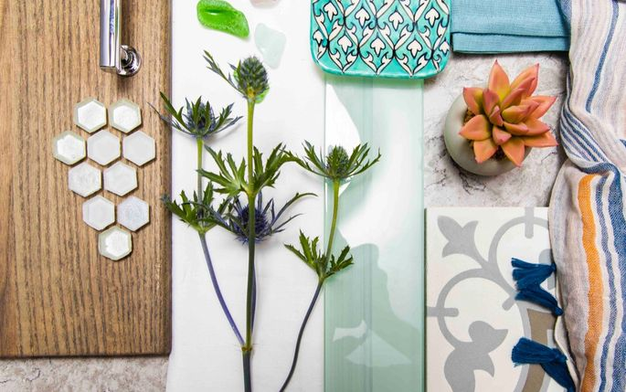 Inspiration finishes for Leanne and Jordan's coastal cabin