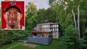Washington Nationals Star Max Scherzer Selling $15M Virginia Mansion