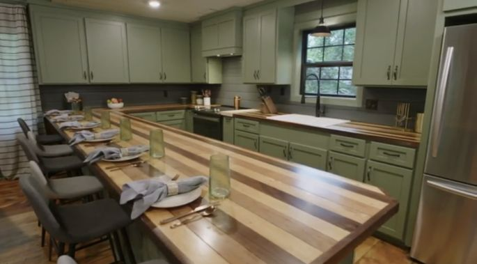 Ben and Erin love these original, multicolored counters.