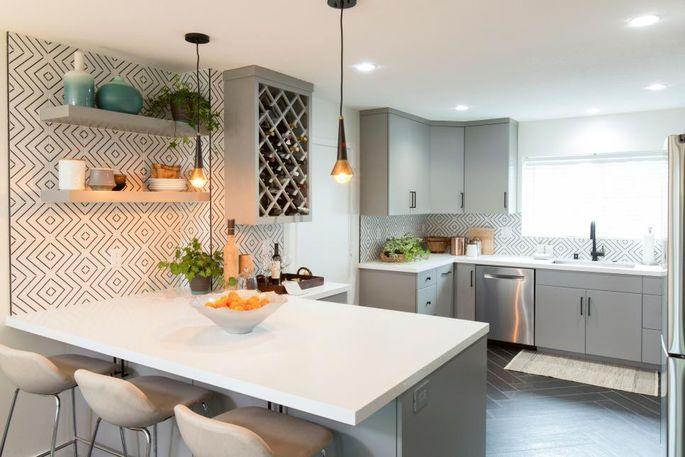 The elegant new kitchen Christina Anstead remodeled for Sunshine and Erik