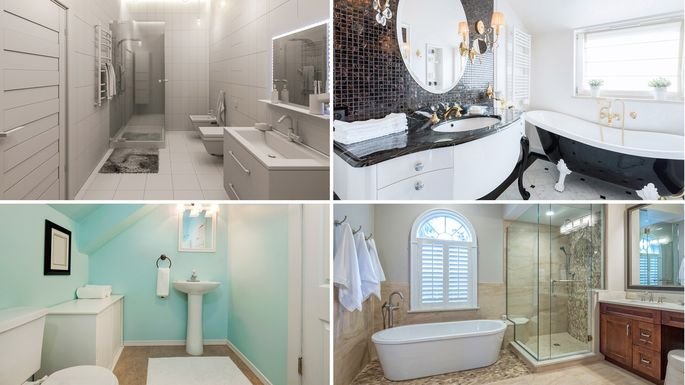 What Is A Full Bath The 48 Parts That Make Up A Bathroom Realtor Adorable 9X5 Bathroom Style
