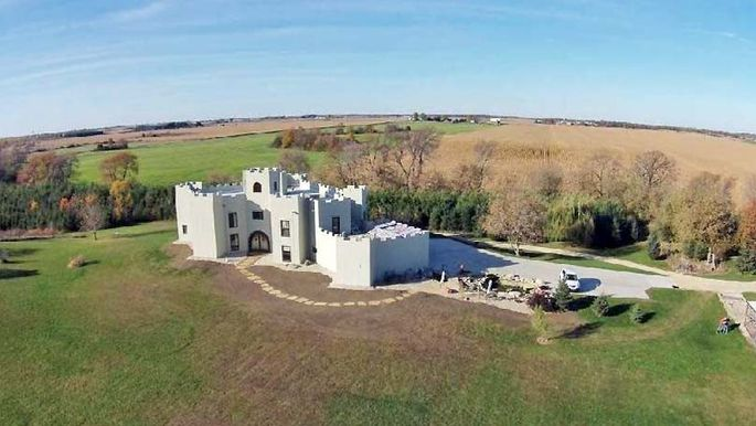 Cheese and castles this fortress is a concrete marvel for Fortress homes