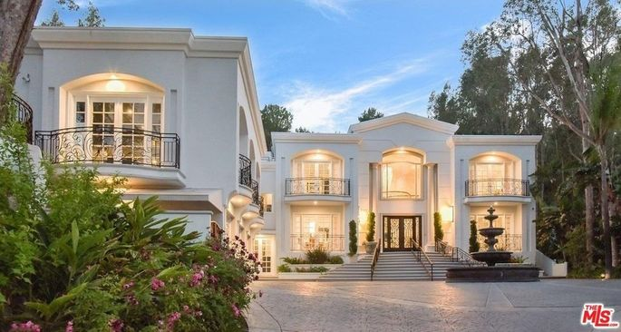 Sean Combs Former Beverly Hills Home Back On The Market Realtor Com