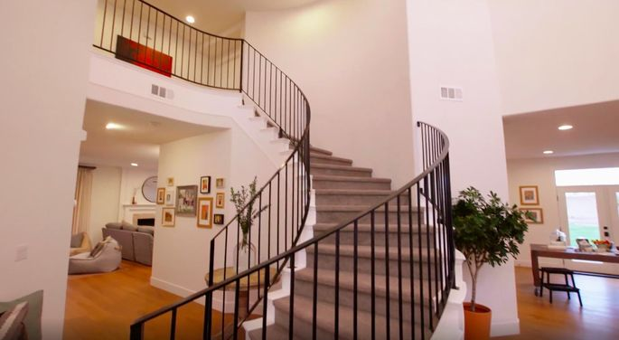 This staircase is much safer now—and it looks great!