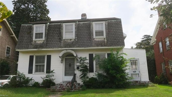 A fixer-upper in Virginia Beach