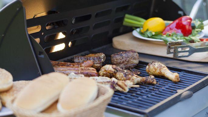Picnic barbecue grill