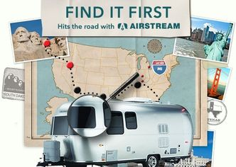 Last Chance to #FindItFirst and Win an Airstream