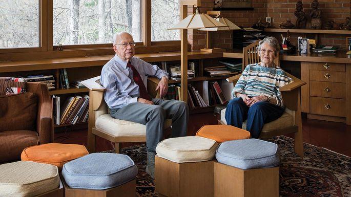 Paul and Helen Olfelt Frank Lloyd Wright