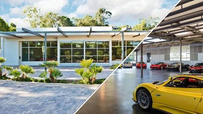Amazing $10M Auto Museum (Don't Call It a Garage!) for Sale in Malibu