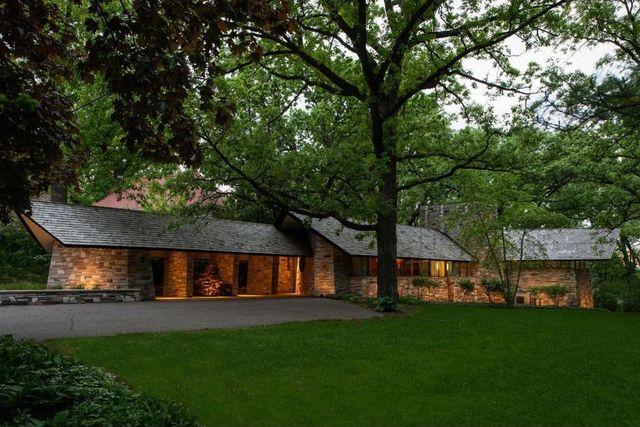 Frank Lloyd Wright home in Minneapolis, MN