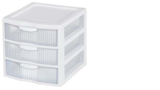 Sterilite® 3-Drawer Small Multipurpose Organizer