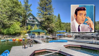 Former Lake Arrowhead Retreat of 'Mannix' Star Mike Connors Is Listed for $2.2M