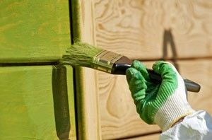 Painting or Staining Wood Siding