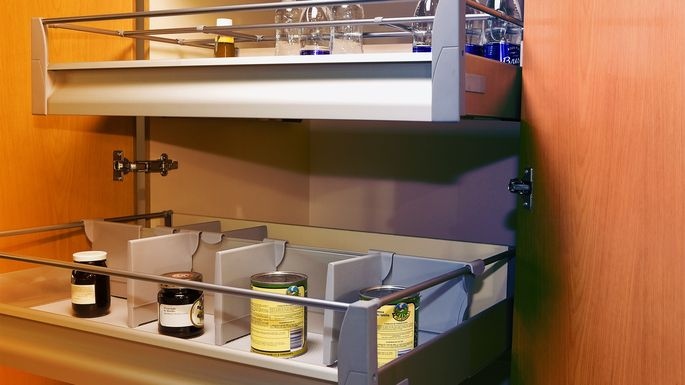 How to Install Cabinet Pull-Out Drawers—the Key to More ...
