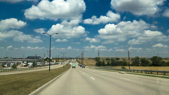 American roadways; Frisco, TX USA