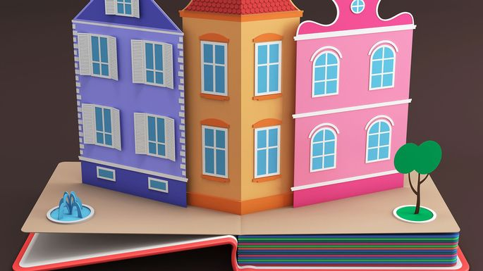 popup-book-house