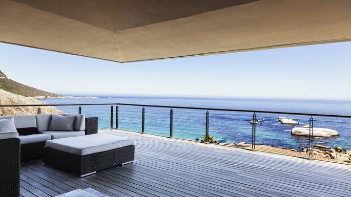 A truly nice balcony