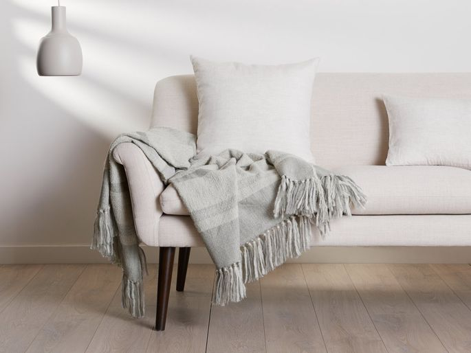 A soft throw makes every living room a little cozier.
