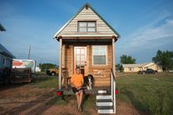 West Texas Town Finds 'Tiny House' Crowd a Bit Too Earthy