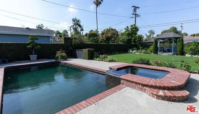 Pool at Gina Rodriguez home
