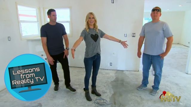 Tarek and Christina Try a Kitchen Reno Move We've Never, Ever Seen Before